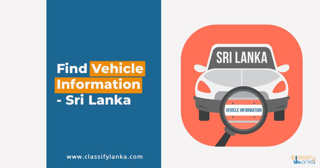 Vehicle Registration Details Sri Lanka