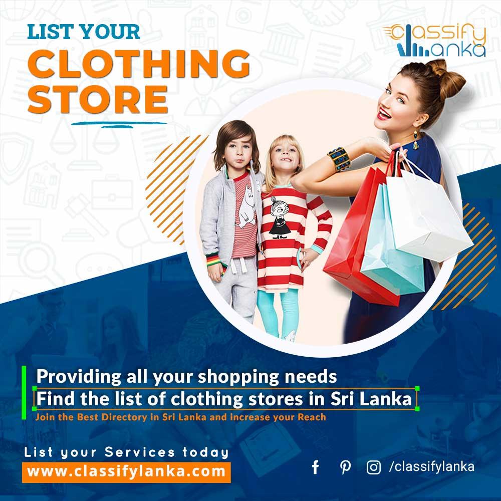 Clothing Stores Sri Lanka