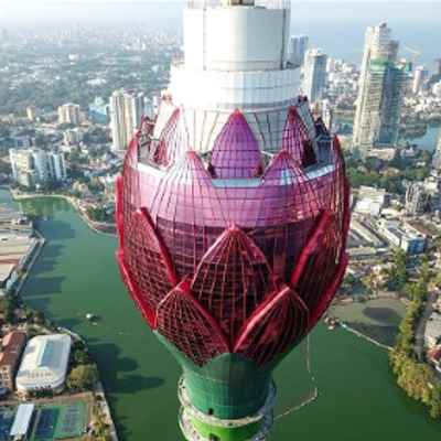 Tallest tower of South Asia Lotus Tower