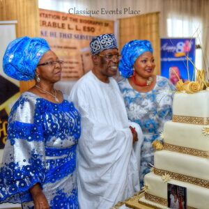 80TH BIRTHDAY OF REV LADIPO LADAPO ESO1
