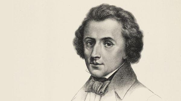 Portrait de Chopin, compositeur, pianiste