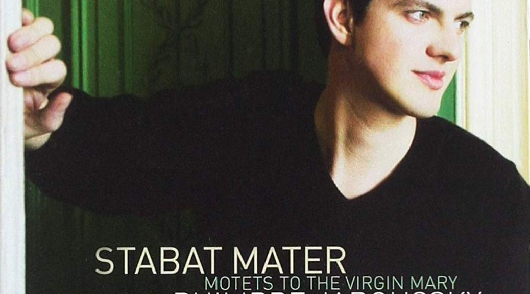 """Pochette de l'album """"Stabat Mater : Motets italiens à la Vierge Marie"""" par Philippe Jaroussky"""