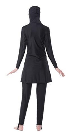 burkini, maillot de bain, tunique, combinaison pour femme musulmane. Grande taille pas cher.