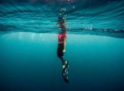Comment bien nager avec un monopalme ?