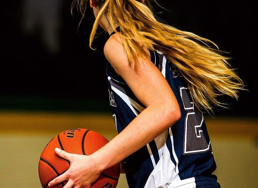 Joueuse de basket
