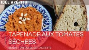 👨🍳 Recette tapenade rouge aux tomates séchées | simple et rapide