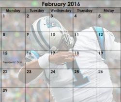 February Dab