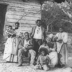 old-southern-black-family