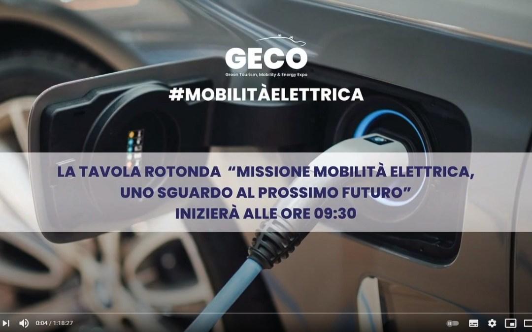 GECO expo: video della tavola rotonda sulla mobilità elettrica