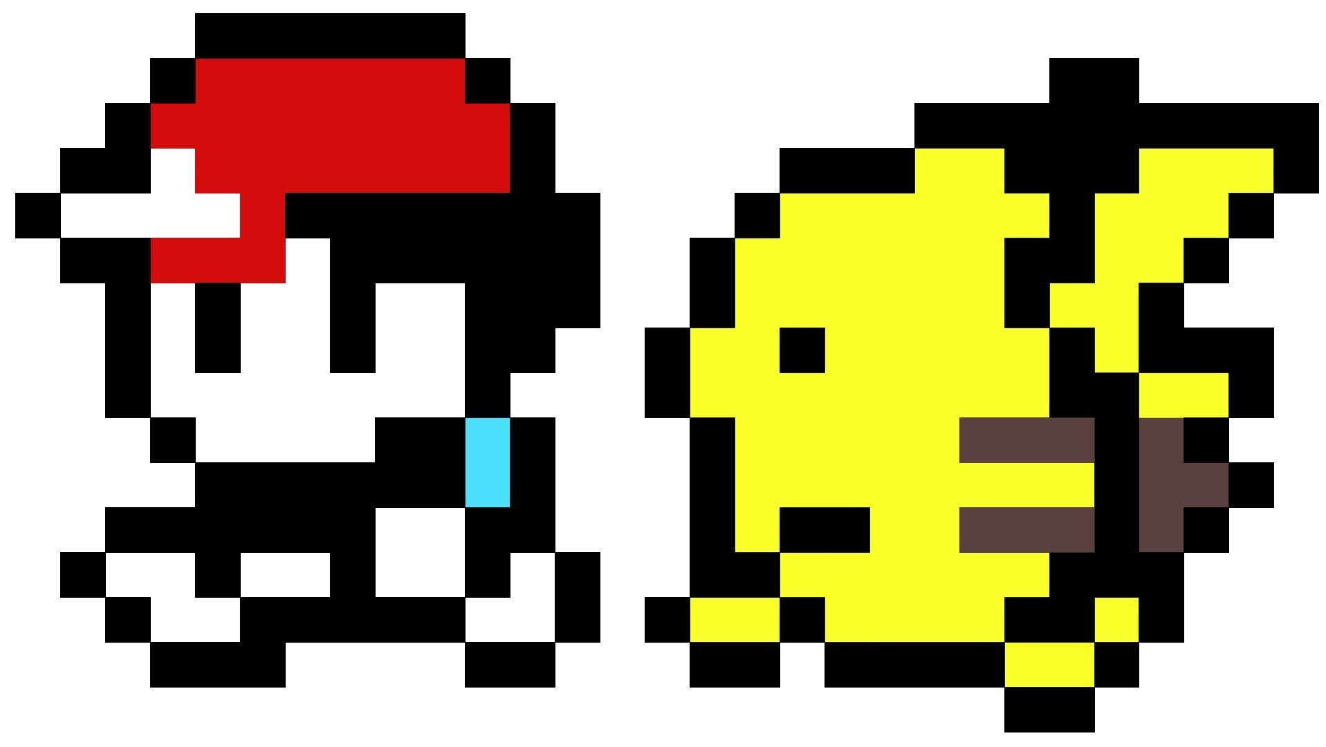 pokemon 8 bit pikachu images for gt 8 bit pokemon