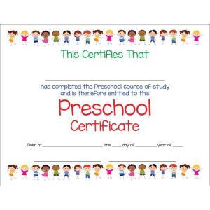stick-kids-preschool-certificate