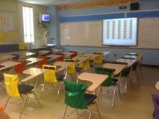 An 8th grade classroom