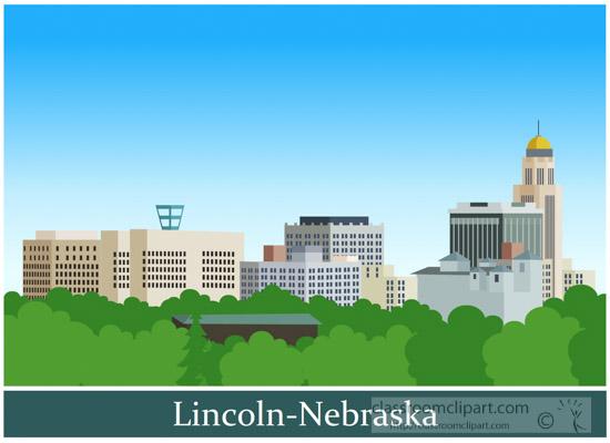 City-of-lincoln-nebraska-clipart