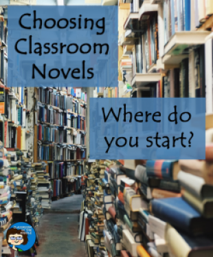 Choosing classroom novels can be a daunting task for any classroom teacher, but not anymore! The practical ideas at this blog post will help you decide which novels best fit the students in your upper elementary or middle school classroom! Make sure to check this out if you teach 3rd, 4th, 5th, 6th, 7th, or 8th grade! {And make sure to check out the FREE download too!}