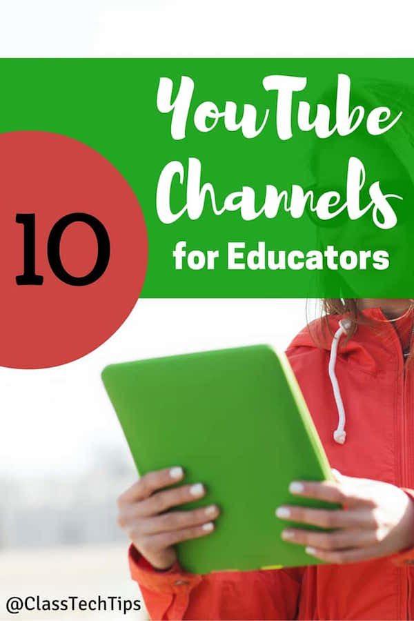 10 Favorite Educational YouTube Channels - Class Tech Tips
