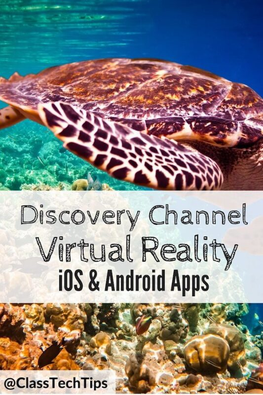 Virtual Reality Discovery Channel App - Virtual Field Trips for ...
