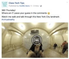 360 Video Spotlight: Museum of Natural History Virtual Reality