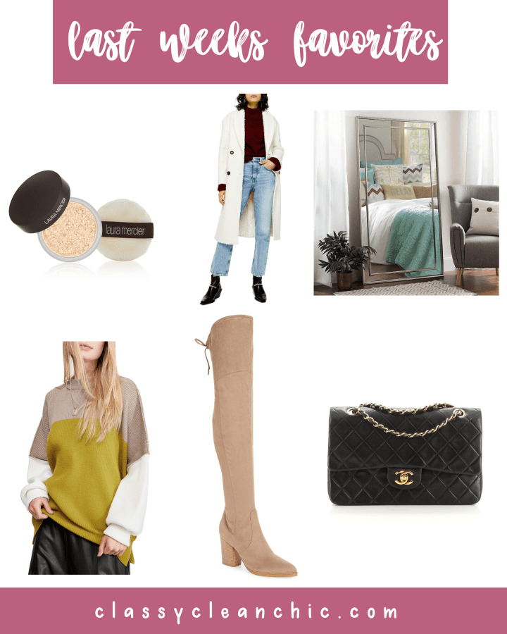 Weekly Roundup + Boxing Day Sales | Style blogger Emerson Hannon of Classycleanchic shares Weekly Roundup + Boxing Day Sales