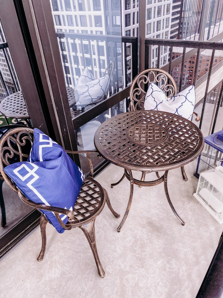 Outdoor Patio Refresh with eBay | Style blogger Emerson Hannon of Classycleanchic shares Outdoor Patio Refresh with eBay