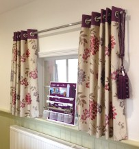 Showroom eyelet curtains