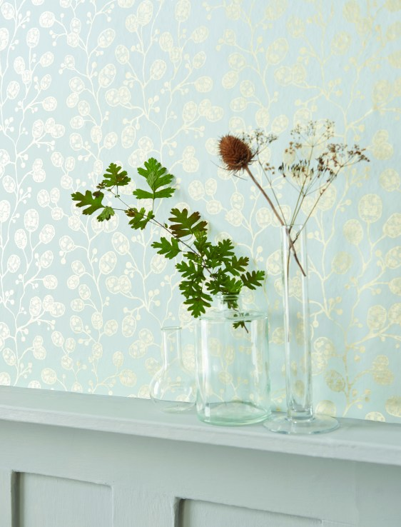 Clarke and Clarke Botanical Wall Paper Collection