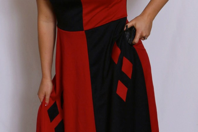 Harley Quinn inspired dress   Classy Looking Nerf Herder Harley Quinn inspired dress
