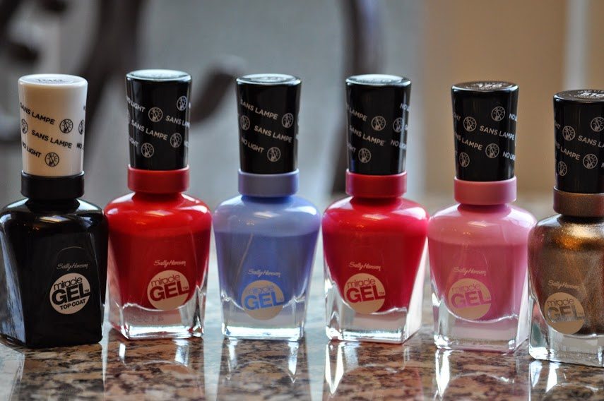 New Sally Hansen Miracle Gel Nail Colors For Only 7