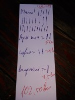 The bill like in Prague