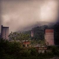 Former copper mine near Moldova Noua
