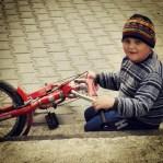 This kid born in Garnic (Gernik) speaks only Czech