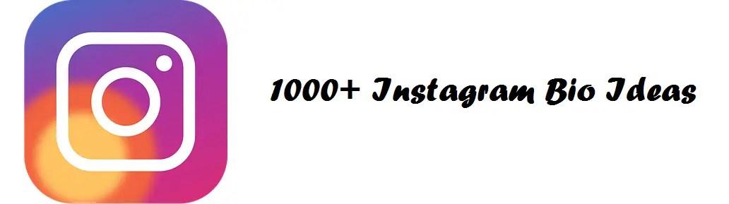 1000+ Instagram Bio Ideas 2019 - Cool, Funny, Creative & Best Bios