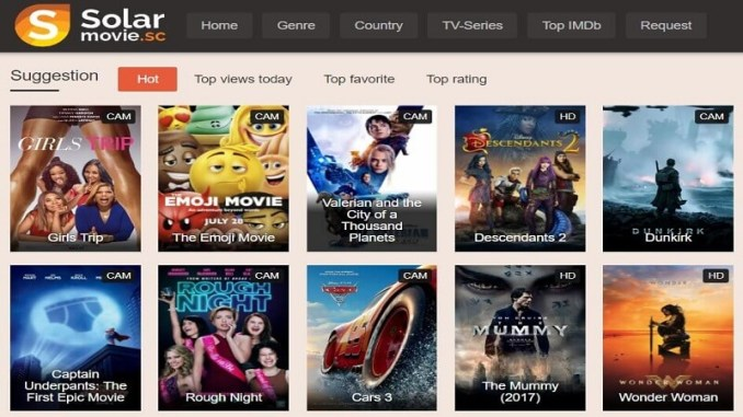 solarmovie website to watch latest movies for free