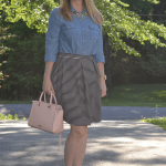 Trendy Wednesday Link Up #20: Chambray and Stripes