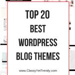 Top 20 Best WordPress Blog Themes