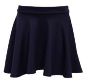 skirt - navy