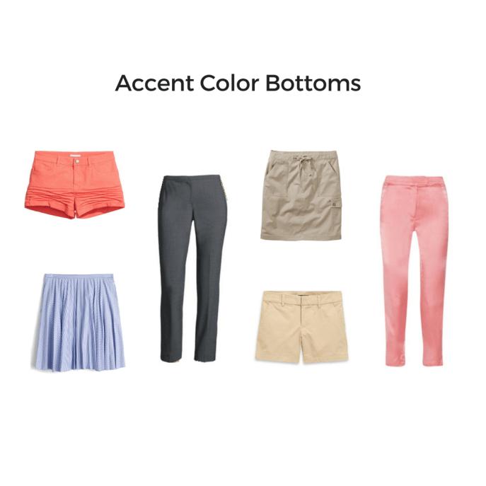 Accent Color Bottoms