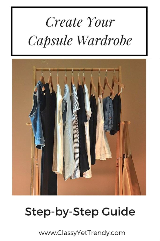 Create Your Capsule Wardrobe Guide