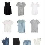 Starter Capsule Wardrobe (10 Pieces / Summer)