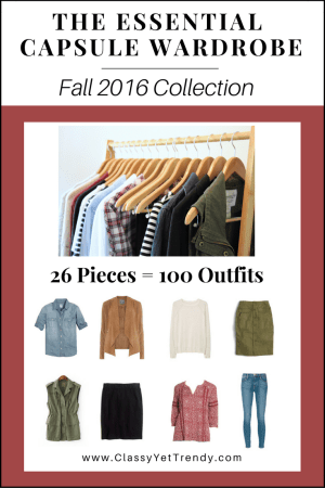 The Essential Capsule Wardrobe Fall 2016 cover