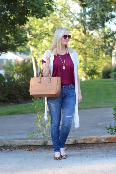 A Pop of Leopard (Trendy Wednesday Link-up #90)