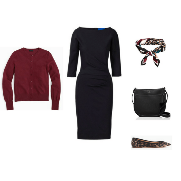 The Workwear Capsule Wardrobe: Fall 2016 Collection Outfit 3