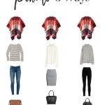 How To Wear A Poncho 3 Ways