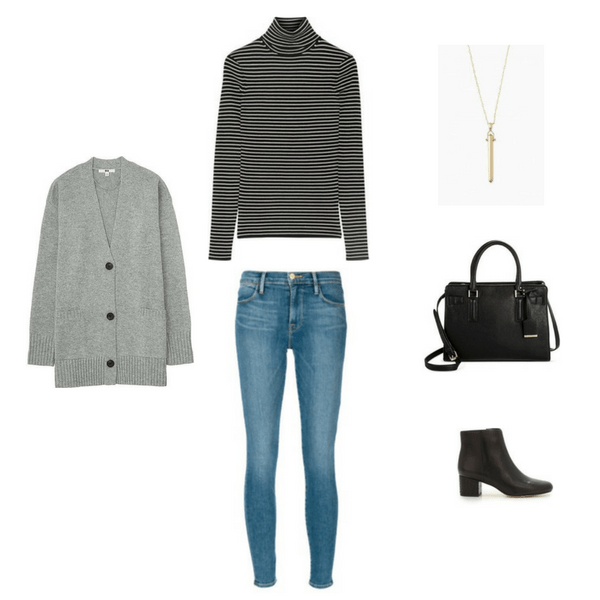 Outfit 39 - The French Minimalist Capsule Wardrobe: Winter 2017 Collection