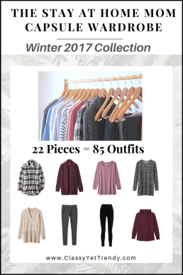 Stay At Home Capsule Wardrobe Winter 2017 EBook