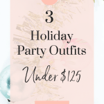 3 Holiday Party Outfits Under $125