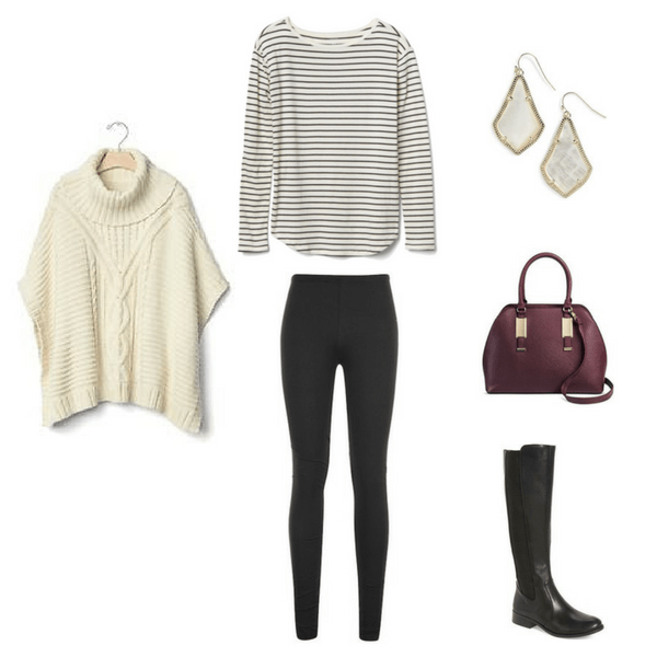 How To Wear Leggings 3 Ways - OUTFIT #1