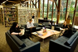 Casual Meeting Space (Music Library)