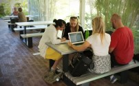 Outdoor Casual Meeting or Study Space