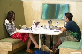 Study booth on Level 1