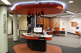 Huxley Library Service Zone